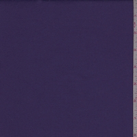 Regal Purple Cotton Stretch Twill