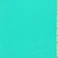 Turquoise Cotton Stretch Twill