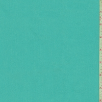 Dusty Turquoise Cotton Stretch Twill
