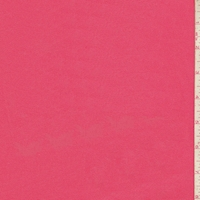 Pale Red Cotton Stretch Twill