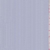 *1 1/2 YD PC--Dark Blue/White Pinstripe Oxford Shirting
