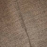 *1 YD PC--Brown/Taupe/Beige Stripe Textured Slub Woven Decor Fabric