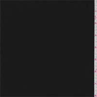 *1 YD PC--Black Crinkled Gauze Knit