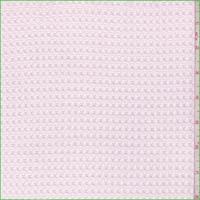 Soft Pink Waffle Thermal Knit