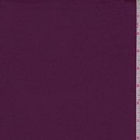Meadow Violet Satin Scuba Knit