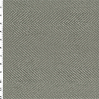 * 4 5/8 YD PC--Sage Green Herringbone Home Decorating Fabric