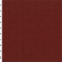 * 1 5/8 YD PC--Brick Red Texture Woven Home Decorating Fabric