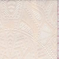 Corozo Beige Deco Stretch Lace