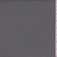 Taupe Grey/Black Houndstooth Check Jacketing