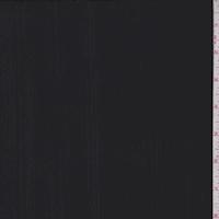Black Crinkled Stripe Slinky Knit