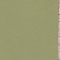 Sage Green Double Brushed Jersey Knit