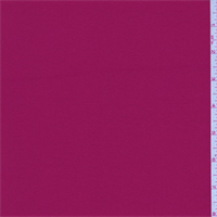 *7/8 YD PC--Sangria Red Polyester Crepe