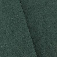 *7/8 YD PC--Pine Green Wool Blend Textured Loosely Woven Gauze