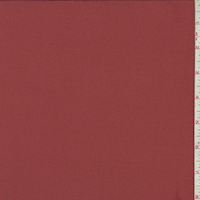 *6 YD PC--Terra Cotta Silk Crepe de Chine