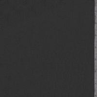 *4 1/2 YD PC--Smoke Black Polyester Chiffon