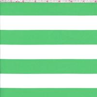 Lime/White Stripe Knit Activewear
