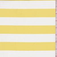 Yellow/White Stripe Knit Activewear
