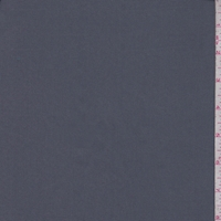 Granite Grey Stretch Poplin