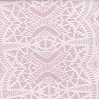 Dusty Pink Mosaic Deco Lace