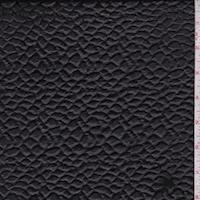 Black Pebble Knit Pleather