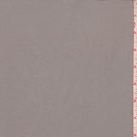 Sterling Grey Stretch Poplin