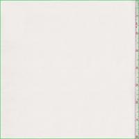 White Silk Crepe de Chine