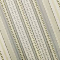 *2 YD PC--Beige/Ivory/Multi Stripe Woven Home Decorating Fabric