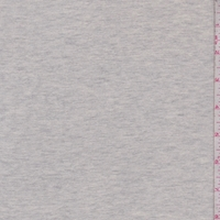 Light Heather Grey French Terry Knit