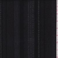 Slate Black/Mauve Stripe Shirting