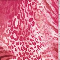 Berry/Coral/Garnet Animal Print Activewear