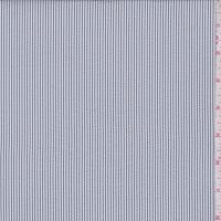 Pewter/White Stripe Seersucker
