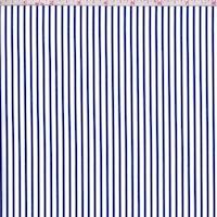 White/Violet Blue Stripe Shirting