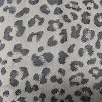 Grey/Charcoal Mini Cheetah Jacquard