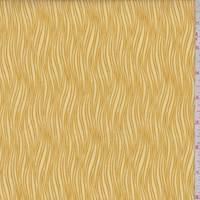 *2 3/8 YD PC--Golden Waves Print Cotton