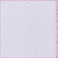 *2 3/4 YD PC--White Target Dot Lace