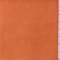 *1 1/2 YD PC--Orange Polyester Fleece