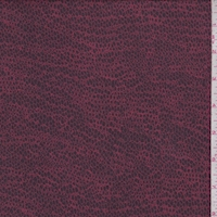 *1 5/8 YD PC--Navy/Brick Mini Pebble Silk Crepe Georgette