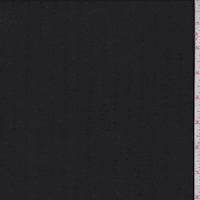 Ebony Embroidered Stripe Linen