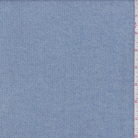 Heather Blue Rib Sweater Knit