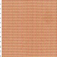 *3 1/4 YD PC--Red/Yellow Cotton Plaid Dobby Home Decorating Fabric
