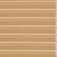 Caramel/Gold Deco Stripe Suiting
