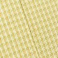 *1 1/4 YD PC--Golden Yellow/Beige Geometric Twill Home Decorating Fabric