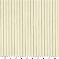 *1 3/4 YD PC--Brown Stripe Print Home Decorating Fabric