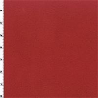 *3 YD PC--Double Sided Sweatshirt Fleece - Red