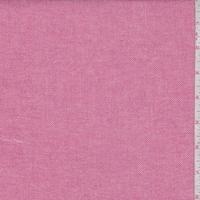 Deep Pink Cotton Twill