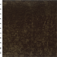 *4 YD PC--Dark Brown Chenille Home Decorating Fabric