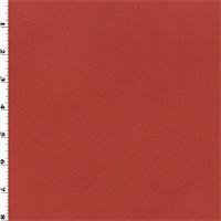 *4 1/2 YD PC--Double Sided Sweatshirt Fleece - Red-Orange