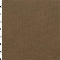 *1 1/2 YD PC--Polartec Double Sided Grid Fleece - Brown