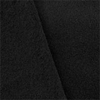 *2 1/2 YD PC-- Black Double Sided Fleece