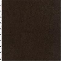 *1 1/4 YD PC--Single Sided Sweatshirt Fleece - Chocolate Brown